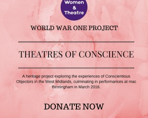 Support our WWI project